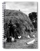 Chicken Farmers, 1939 Spiral Notebook