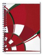 Chicken Little Crossed The Road - Abstract - Triptych Spiral Notebook