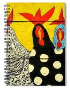 Chicken Posse Spiral Notebook