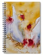 Chickens Feed Spiral Notebook
