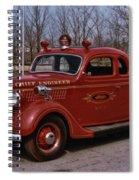 Chief Engineer Spiral Notebook