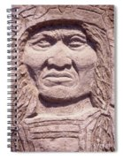 Chief-kicking-bird Spiral Notebook