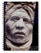 Chief-santana Spiral Notebook