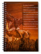 Chief Shabbona And The Ten Indian Commandments Spiral Notebook