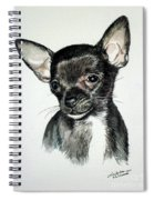 Chihuahua Black 2 Spiral Notebook