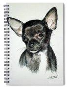 Chihuahua Black 2 Spiral Notebook