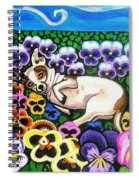 Chihuahua In Flowers Spiral Notebook