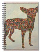 Chihuahua-shape Spiral Notebook