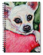 Chihuahua Who Came To Visit Spiral Notebook