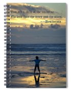 Child Of The Universe Spiral Notebook
