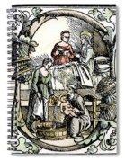 Childbirth, 1499 Spiral Notebook