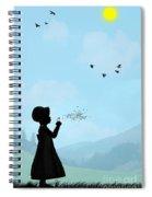 One O Clock Spiral Notebook