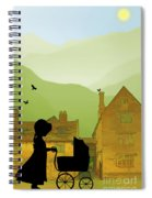 Childhood Dreams The Pram Spiral Notebook