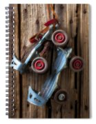 Childhood Skates Spiral Notebook