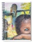 Childhood Triptic Spiral Notebook