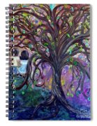 Children Under The Fantasy Tree With Jackie Joyner-kersee Spiral Notebook