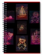 Children's Toys In Lights Poster 2 Spiral Notebook