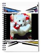 Child's Teddy Bear Spiral Notebook