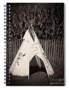 Childs Vintage Play Tipi Spiral Notebook