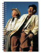 Chill Wills And Andy Devine Singing Atop A Stagecoach Old Tucson Arizona 1971 Spiral Notebook