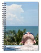 Chilled In Paradise Spiral Notebook