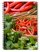 Chillies 04 Spiral Notebook