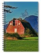 Chilliwack Barn Spiral Notebook