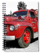 Chilliwack Fire- Mercury Firetruck Spiral Notebook