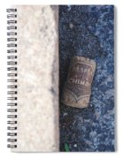 Chimay Wine Cork Spiral Notebook