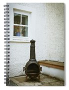 Chiminea Spiral Notebook