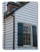 Chimney And Shutters Spiral Notebook