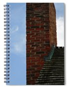 Chimney Moon Spiral Notebook