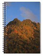 Chimney Tops In Smoky Mountains Spiral Notebook