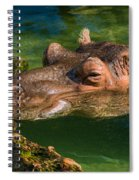 Chin Up Spiral Notebook