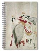 China Concubine & Horse Spiral Notebook