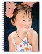 China Doll Spiral Notebook