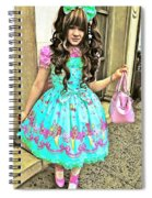 China Town Girl 2013 Spiral Notebook