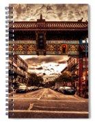 China Town Victoria Spiral Notebook