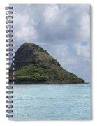 Chinamans Hat Panorama - Oahu Hawaii Spiral Notebook
