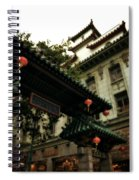 Chinatown Entrance Spiral Notebook