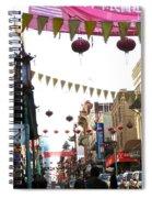 Chinatown Spiral Notebook