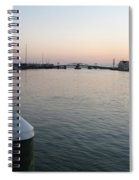 Chincoteague Sound In The Eveninglight Spiral Notebook