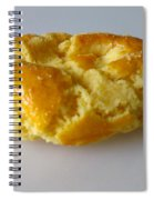 Chinese Almond Cookie Spiral Notebook