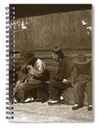 Chinese Cobbler San Francisco California Chinatown Circa 1900 Spiral Notebook
