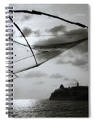 Approaching Cochin Spiral Notebook