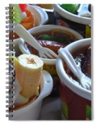 Chinese Food Miniatures 3 Spiral Notebook