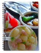 Chinese Food Miniatures 4 Spiral Notebook