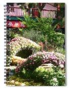 Chinese Garden Spiral Notebook