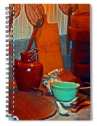 Chinese Kitchen Cookware Spiral Notebook