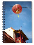 Chinese Lantern Spiral Notebook